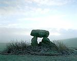 The Devils Den Cromlech , Clatford Bottom, Nr Marlborough, Wiltshire. England. Celtic Britain published by Orion.