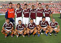 Houston Dynamo starting XI.  Chicago Fire beat Houston Dynamo 1-0 at Robertson Stadium in Houston, TX on April 29, 2007.