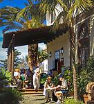 Spanien, Kanarische Inseln, Teneriffa, La Orotava: Restaurante Casa Lercaro im Casa Ponte Fonte | Spain, Canary Islands, Tenerife, La Orotava: Restaurante Casa Lercaro at Casa Ponte Fonte