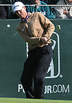 3 October 2008: John Senden hits a chip shot during the second round at the Turning Stone Golf Championship in Verona, New York.