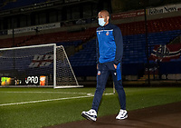 Bolton Wanderers' Alex John-Baptiste arriving at the stadium  <br /> <br /> Photographer Andrew Kearns/CameraSport<br /> <br /> The EFL Sky Bet League Two - Bolton Wanderers v Salford City - Friday 13th November 2020 - University of Bolton Stadium - Bolton<br /> <br /> World Copyright © 2020 CameraSport. All rights reserved. 43 Linden Ave. Countesthorpe. Leicester. England. LE8 5PG - Tel: +44 (0) 116 277 4147 - admin@camerasport.com - www.camerasport.com