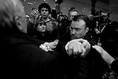 """Moscow, Russia<br /> March 31, 2010<br /> <br /> After placing flowers at the Park Kultura subway station where 12 people where killed by a terrorist bomb the day before Ludmila Alexeeva, 82 is struck in the head by Konstantin Pereverzev 31 year old Orthodox Patriot who yelled, """"Are you still alive bitch"""", before hitting her.<br /> <br /> She is Chair of the Moscow Helsinki Group, is the doyenne of Russia's human rights community. Thirty years ago, she was one of the original Soviet-era dissidents who spoke out against repression. Today, she is not afraid to raise her voice in the renewed fight for rights in Russia, including criticizing policies on hate crimes as well as the war in Chechnya, and is a mentor to the new generation of dissidents. Alexeeva published the seminal book Soviet Dissent in 1985. She also served as President of the International Helsinki Federation for Human Rights - an umbrella group of human rights organizations from 38 countries -- from 1999 to 2004."""