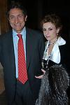 """LUDOVICA PURINI CON IL MARITO GIANCARLO ROSSI<br /> VERNISSAGE """"ROMA 2006 10 ARTISTI DELLA GALLERIA FOTOGRAFIA ITALIANA"""" AUDITORIUM DELLA CONCILIAZIONE ROMA 2006"""