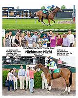 Nightmare Night winning at Delaware Park on 5/24/11