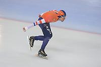 SPEED SKATING: HAMAR: Viking Skipet, 01-02-2019, ISU World Cup Speed Skating, Douwe de Vries (NED), ©photo Martin de Jong