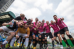 Yau Yee League Masters are the Plate Final Winners of the Masters tournament of the HKFC Citi Soccer Sevens on 22 May 2016 in the Hong Kong Footbal Club, Hong Kong, China. Photo by Li Man Yuen / Power Sport Images