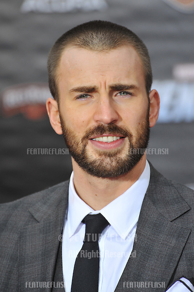 """Chris Evans at the world premiere of his new movie """"Marvel's The Avengers"""" at the El Capitan Theatre, Hollywood..April 11, 2012  Los Angeles, CA.Picture: Paul Smith / Featureflash"""