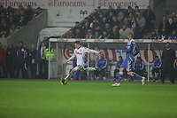 Pictured: Tuesday, 31 January 2012<br /> Re: Premier League football Swansea City FC v Chelsea FCl at the Liberty Stadium, south Wales.