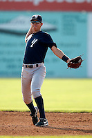 August 16, 2009:  Shortstop Carmen Angelini of the Staten Island Yankees during a game at Dwyer Stadium in Batavia, NY.  Staten Island is the Short-Season Class-A affiliate of the New York Yankees.  Photo By Mike Janes/Four Seam Images