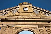 Europe/Espagne/Guipuscoa/Pays Basque/Saint-Sébastien: Façade du Mercado de La Bretxa,