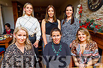 Enjoying Little Women's Christmas in Bella Bia on Saturday.<br /> Seated l to r: Linda Clifford, Amanda O'Connell and Emma Lawlor.<br /> Back l to r: Diana Fealy, Natasha O'Connell and Caroline Lyons.