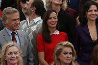 CHRISTOPH WALTZ JULIETTE BINOCHE LIV ULLMAN CATHERINE DENEUVE 70th Anniversary Photocall - The 70th Annual Cannes Film Festival<br /> CANNES, FRANCE - MAY 23