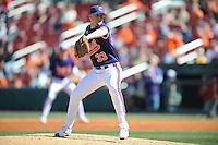 Scott Weismann (Pitcher) Clemson Tigers (Photo by Tony Farlow/Four Seam Images)