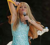 Miley Cyrus  06-22-2007, Photo By John Barrett/PHOTOlink