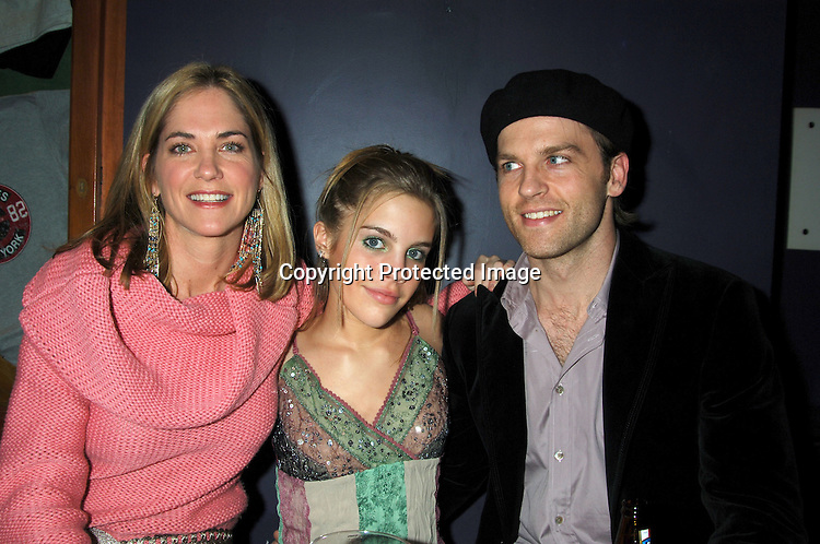 Kassie DePaiva, Kristen Alderson and Trevor St John ..at The Launch of the One Life, Many Voices CD, ..which is a 26 Track compilation CD,comprised of original ..material, covers and spoken word. It was produced and sung by actors who star on One Life To Live and will  benefit Hurricane Relief. The event was on January 11, 2006 at Caroline's Comedy Club...Photo by Robin Platzer, Twin Images