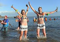 2016 12 26 Boxing Day Swim, Tenby, Wales, UK