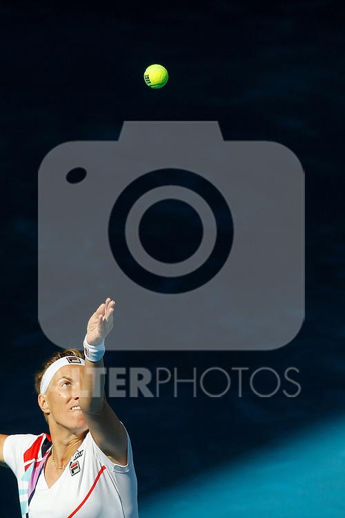 Svetlana Kuznetsova during Mutua Madrid Open 2012 match on may 6th 2012...Photo: Cesar Cebolla / ALFAQUI