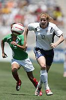 Cindy Parlow, USA v Mexico, 2004.