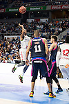 Laboral Kutxa's Darius Adams during Liga Endesa ACB at Barclays Center in Madrid, October 11, 2015.<br /> (ALTERPHOTOS/BorjaB.Hojas)