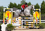 12 July 2009: Becky Holder riding Courageous Comet during the showjumping phase of the CIC 3* Maui Jim Horse Trials at Lamplight Equestrian Center in Wayne, Illinois.