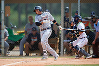 Detroit Tigers Martin Olivas (73) at bat during an Instructional League instrasquad game on September 20, 2019 at Tigertown in Lakeland, Florida.  (Mike Janes/Four Seam Images)