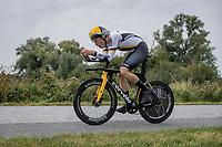 Michel Hessmann (GER/Jumbo Visma Development Team)<br /> <br /> 88th UCI Road World Championships 2021 – ITT (WC)<br /> Men's U23 Time trial from Knokke-Heist to Brugge (30.3km)<br /> <br /> ©Kramon