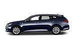 Car Driver side profile view of a 2017 KIA Optima-Sportswagon Fusion 5 Door Wagon Side View