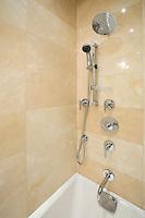 Contemporary shower room