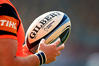 9th October 2021; Brentford Community Stadium, Brentford, London; Gallagher Premiership Rugby, London Irish versus Leicester Tigers; Gallagher Premiership rugby ball size 5