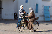 Tunesien, Djerba Houmt Souk, in der Medina