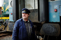 A railway worker is connecting the train carts and the new engine from the Republika Srpska. The Bosnian & Herzegovinian engine is replaced by an engine of the Republika Srpska entity in Doboj. <br /> In December 2009, 17 years after the war in Bosnia ended, a new direct train connection opened between Sarajevo in Bosnia & Herzegovina and Belgrade in Serbia. Despite bureaucratic difficulties (the engine of the train has to be changed four times during the 9 hour journey) and small passenger numbers, the openeing is seen as a step towards an easing of the tensions in the region.<br /> <br /> <br /> <br /> (Bildtechnik: sRGB, <br /> 60.16 MByte vorhanden)
