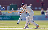 Jordan Cox bats for Kent during Kent CCC vs Worcestershire CCC, LV Insurance County Championship Division 3 Cricket at The Spitfire Ground on 5th September 2021