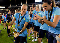 Carson, CA - Thursday August 03, 2017: Australia during a 2017 Tournament of Nations match between the women's national teams of the United States (USA) and Japan (JAP) at StubHub Center.