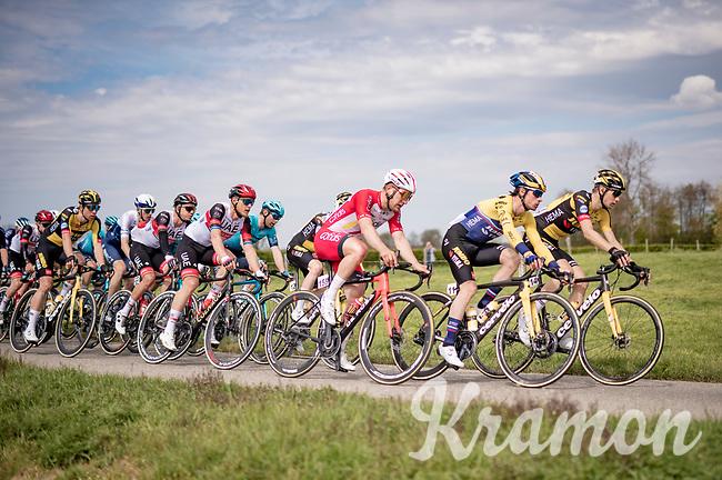 Primož Roglič (SVN/Jumbo-Visma)<br /> <br /> 55th Amstel Gold Race 2021 (1.UWT)<br /> 1 day race from Valkenburg to Berg en Terblijt; raced on closed circuit (NED/217km)<br /> <br /> ©kramon