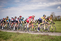 Primož Roglič (SVN/Jumbo-Visma)<br /> <br /> 55th Amstel Gold Race 2021 (1.UWT)<br /> 1 day race from Valkenburg to Berg en Terblijt; raced on closed circuit (NED/217km)<br /> <br /> ©kramon