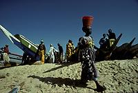 Kayar , Senegal<br /> <br /> (date inconnue)<br /> <br /> PHOTO : Michel Faugere Publiphoto- Agence Quebec Presse