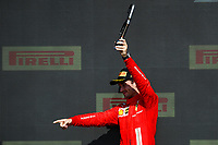 LECLERC Charles (mco), Scuderia Ferrari SF21, portrait podium during the Formula 1 Pirelli British Grand Prix 2021, 10th round of the 2021 FIA Formula One World Championship from July 16 to 18, 2021 on the Silverstone Circuit, in Silverstone, United Kingdom -<br /> Formula 1 GP Great Britain Silverstone 18/07/2021<br /> Photo DPPI/Panoramic/Insidefoto <br /> ITALY ONLY