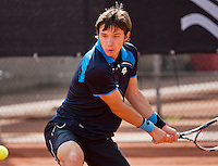 08-08-13, Netherlands, Rotterdam,  TV Victoria, Tennis, NJK 2013, National Junior Tennis Championships 2013, Robert Constantinovici  <br /> <br /> <br /> Photo: Henk Koster