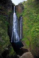 Waipuna falls, filmed in Jurassic park, Kauai