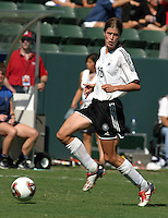 Kerstin Garefrekes, Germany 2-1 over Sweden at the  WWC 2003 Championships.