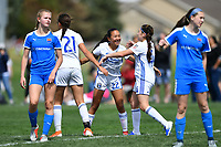 Commerce City, CO - Sunday April 28, 2019: U.S. Soccer Development Academy U-15 Girls Spring Showcase match between San Jose Earthquakes vs Cincinnati Development Academy at Dick's Sporting Goods Park.