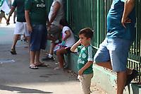 São Paulo (SP), 30/01/2021 - Torcida-SP - Movimentação torcedores do Palmeiras próximo ao Allianz Parque em São Paulo neste sábado (30).