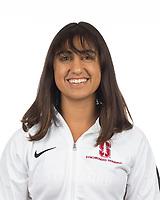 Stanford, CA - November 7, 2019: Lily Randhawa Athlete Headshot.