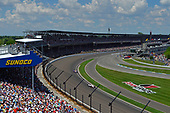 Oriol Servia, Scuderia Corsa with RLL Honda, Alexander Rossi, Andretti Autosport Honda, Charlie Kimball, Carlin Chevrolet