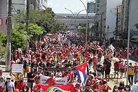 24/07/2021 - PROTESTO CONTRA JAIR BOLSONARO EM RECIFE