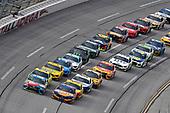 #18: Kyle Busch, Joe Gibbs Racing, Toyota Camry M&M's Hazelnut and #17: Ricky Stenhouse Jr., Roush Fenway Racing, Ford Mustang SunnyD