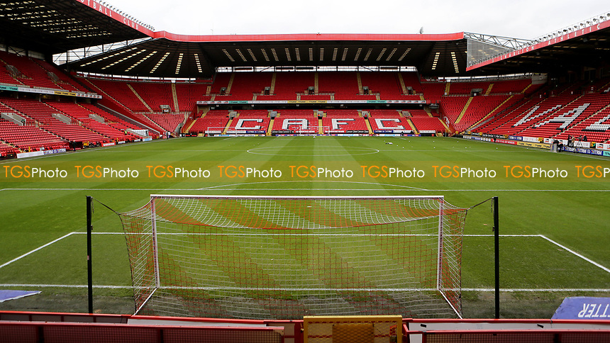 General view of Charlton Athletic FC during Charlton Athletic vs AFC Wimbledon, Sky Bet EFL League 1 Football at The Valley on 12th December 2020