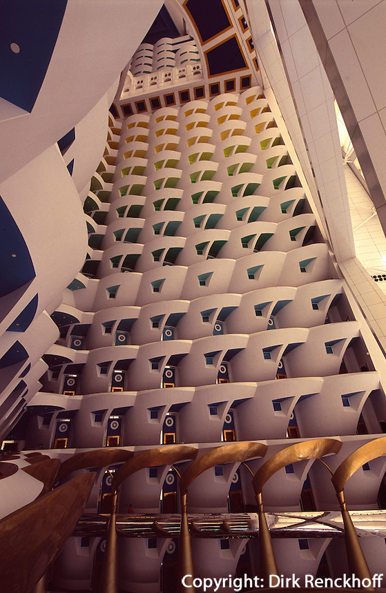 Vereinigte arabische Emirate (VAE, UAE), Dubai, Hotel Burj al Arab