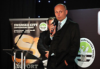 Pictured: Phil Sumbler of the Community Trust Wednesday 18 May 2017<br /> Re: Swansea City FC, Player of the Year Awards at the Liberty Stadium, Wales, UK.