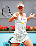 Irina-Camelia Begu, Roumania, during Madrid Open Tennis 2016 match.May, 5, 2016.(ALTERPHOTOS/Acero)